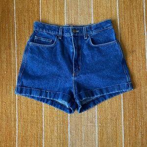 American Apparel High Waist Denim Shorts (s29)
